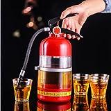 Dispensador de bebidas de vino creativo 2L extintor vertedor fiesta cerveza dispensador de agua cerveza barriles bebidas licor bar accesorio