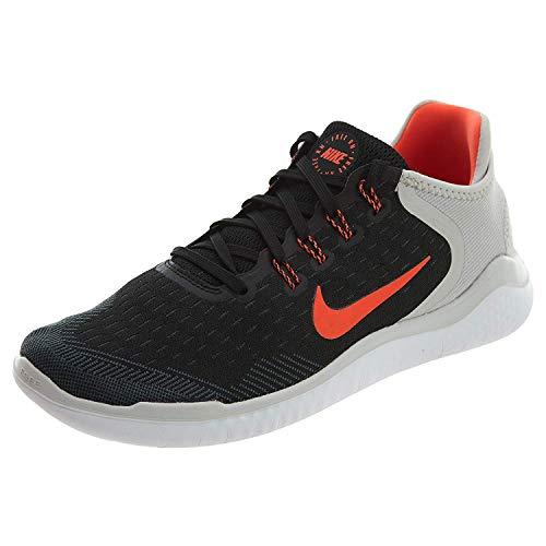 Nike Herren Laufschuh Free Run 2018 Traillaufschuhe, Schwarz (Nero/Total Crimson/Vast Grigio 005), 41 EU