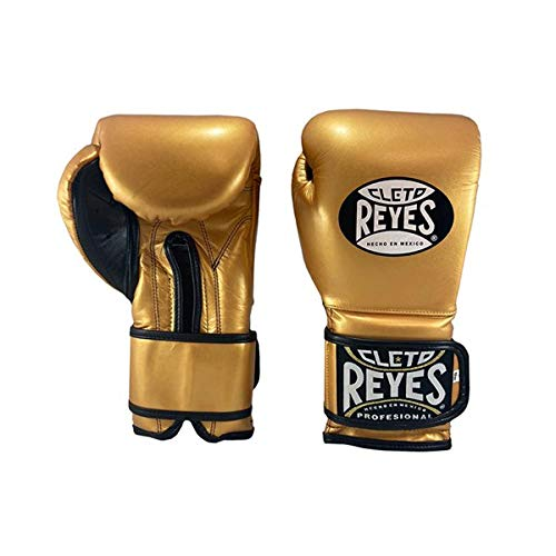 CLETO REYES *Guantes de boxeo de piel envueltos alrededor de Sparring Gold...
