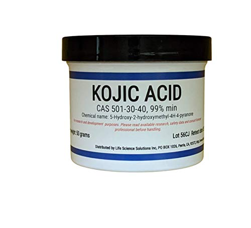 Kojic Acid Powder, 50 Grams