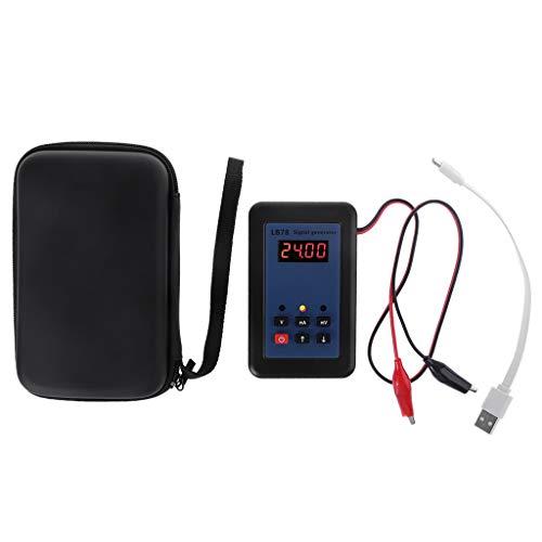 N/A. Generador de señal DA, 4-20 mA / 0-10 V / mV, autoprotección de la señal, estabilidad de larga duración, calibrador de fuente de señal de alta precisión.