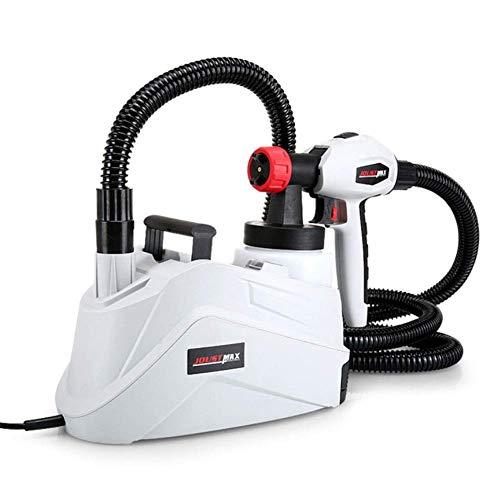 DX verfspuitapparaat, elektrisch, uitgerust met 1280 krachtige motor met 1,3 mm en 2,5 mm koperen sproeiers, 800 ml gieter