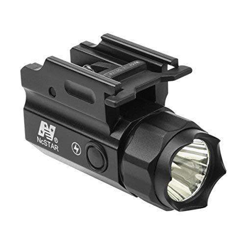 Nc Star ACQPTF Pistol and Rifle 1W Led QR Compact Flashlight