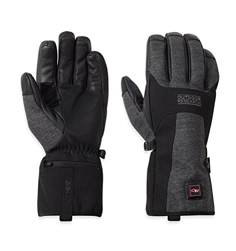 Outdoor Research Oberland Heated Gloves black/charcoal XL
