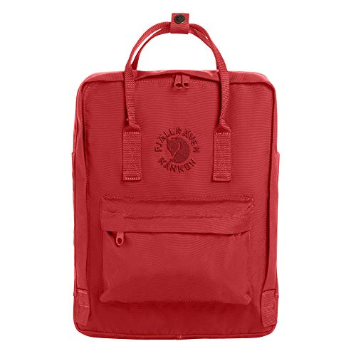 FJÄLLRÄVEN Re-Kånken Backpack, Red, OneSize