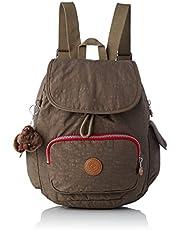 Kipling City Pack S, Zaini Donna, Nero, 27x33.5x19 cm