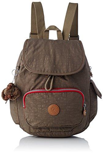 Kipling City Pack S, Damen Rucksack, Braun (True Beige C), 15x24x45 cm (W x H x L)