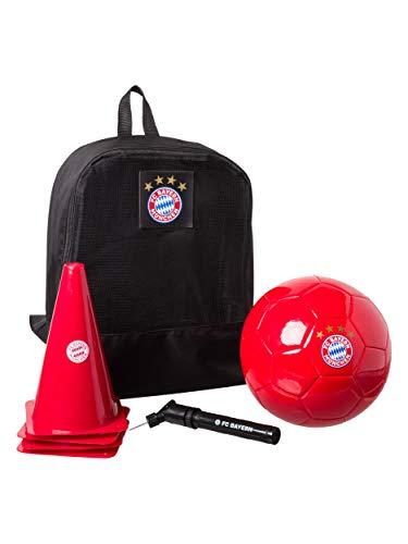 FC Bayern München Trainingsset Ball Hütchen, Rucksack