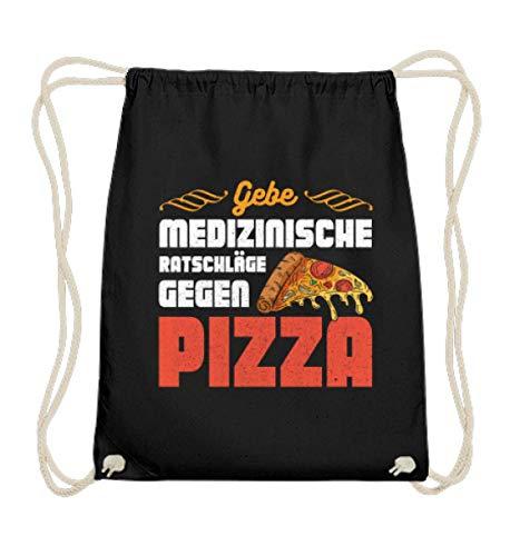 Pizza für Ärzte und Krankenschwestern - Baumwoll Gymsac