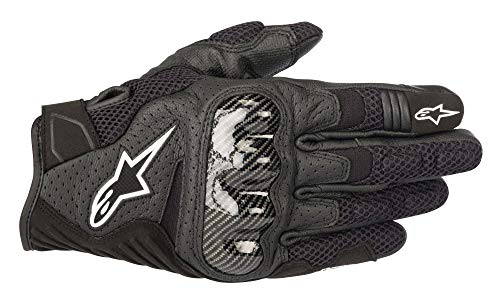Alpinestars Motorradhandschuhe Smx-1 Air V2 Gloves Black, Schwarz, M