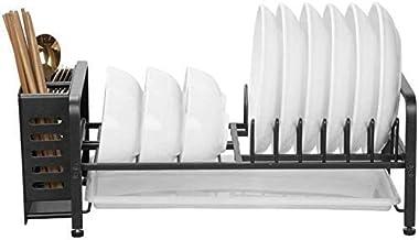 Kitchen Shelf Aluminum Single-Dish Rack Dishes Storage Rack Crockery Rack Drip Dish Storage for Kitchen