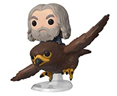 "Package dimension : 4.0"" L x 4.0"" W x 6.0"" H This pop ride is perfect for any Lord of the Rings fan Collect all Lord of the Rings product from Funko Funko POP. is the 2018 Toy of the Year and People's Choice award winner"