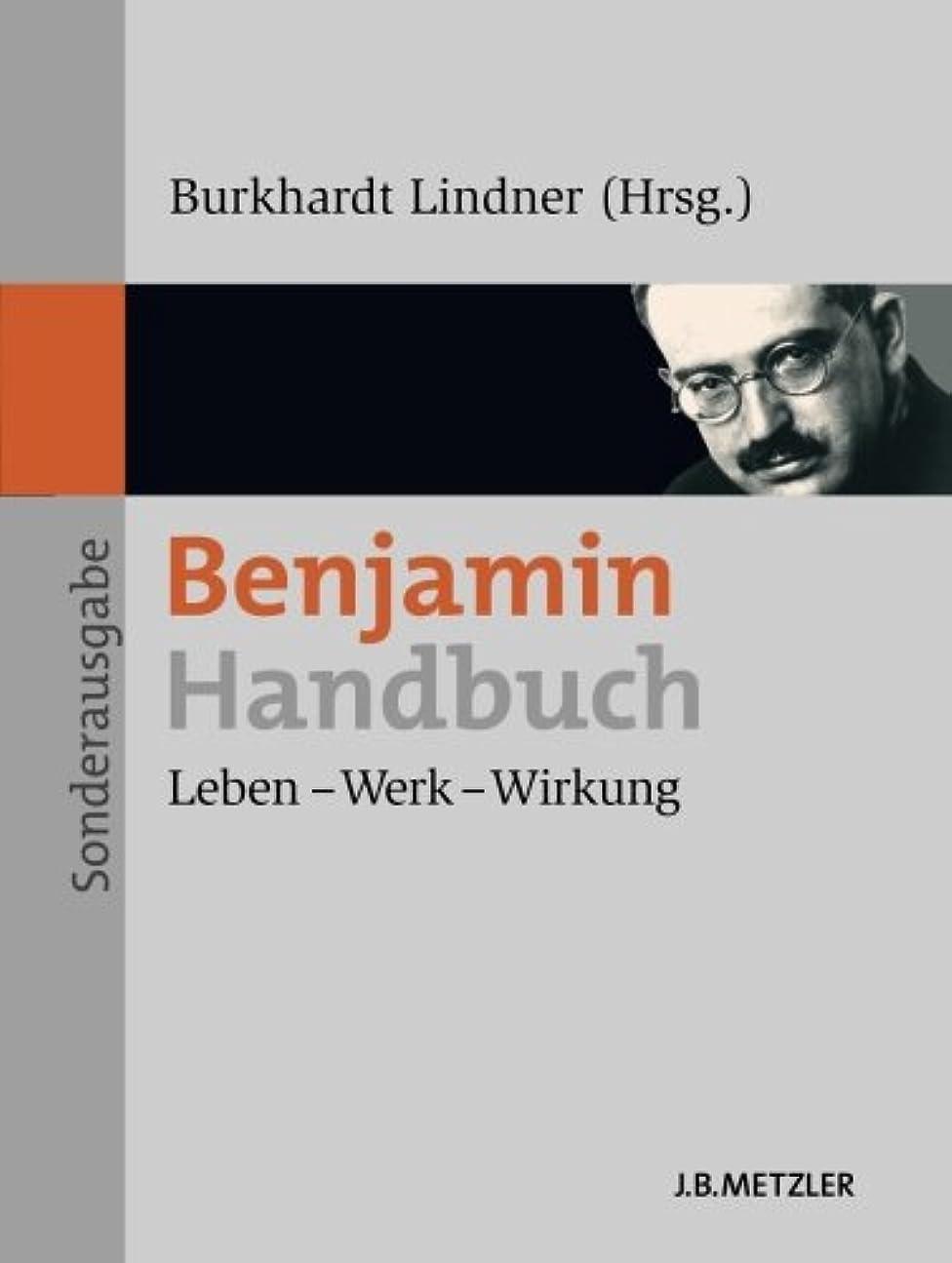 付録化学者ストロークBenjamin-Handbuch: Leben – Werk – Wirkung