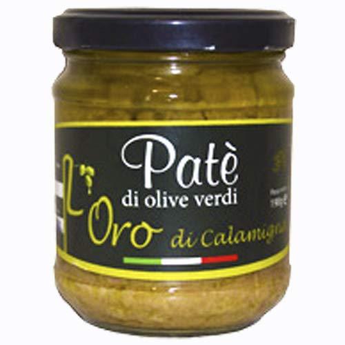 PATE' Patè di olive verdi 212 ml Bio Green Olive Paste crema di olive antipasti