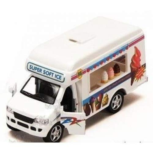 KinsFun Pullback Action Ice Cream Vending Truck