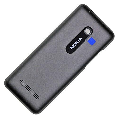 Cover posteriore originale per Nokia Asha 206, dual Sim, colore nero