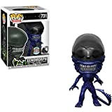 Funko Pop Movies : Alien 40th - Xenomorph (Blue Metallic) 3.75inch Vinyl Gift for Movies Fans SuperCollection