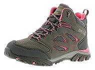 Regatta Holcombe Iep Mid Junior Girls Hikers Regatta Girls Walking Boots Steel Tulip Regatta Holcombe Iep Mid Jnr