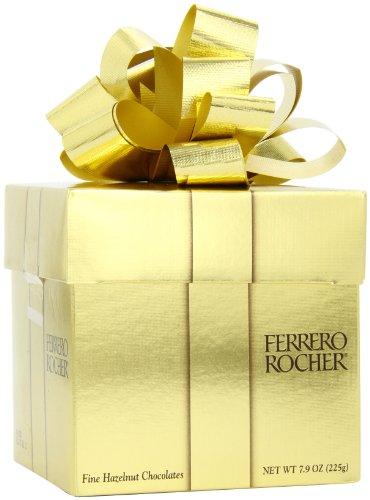 Ferrero Rocher Gift Cube, 18 Count
