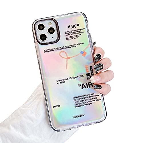 Hot Off Sports Shoes Brand Phone Case per iPhone 12 mini 11 X XS Max XR 7 8 6 6s Plus White Label Soft TPU Cover-8-Per iPhone X
