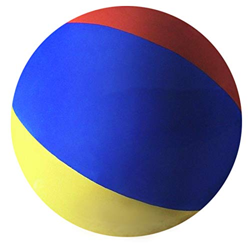 Popsport 6 Feet Tall Beach Ball Inflatable Soccerball 12FT Pole-to-Pole Inflatable Beach Ball Pool Party Balls for Adults and Kids (180cm Beach Ball)