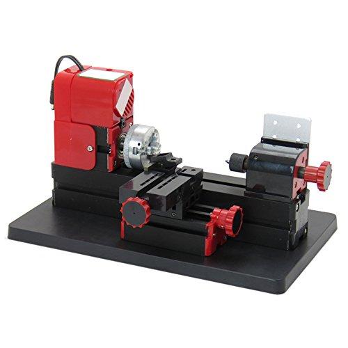 Lowest Prices! Denshine 6 in 1 Machine Lathe DIY Machine Tool Kit Jigsaw Milling Lathe Drilling Mach...