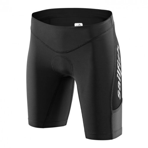 Sailfish - Trishort Comp, Color Negro,Gris, Talla S