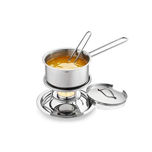 GEFU Saucen- und Butterwärmer-Set CALORIC, 6-teilig Schmelztopf Warmhaltetopf