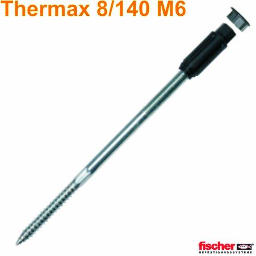 Système de montage à distance avec 1 cheville thermax 8/140 m6 avec cône anti-refroidissement renforcé)