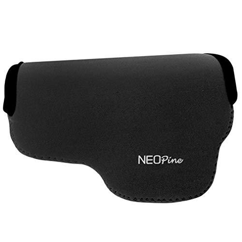 Negro Funda Camara de Fotos Digital Camara Reflex Neopreno Estuche para Olympus Pen E-PL10 E-PL9 E-PL8 E-PL7 (14-42mm Lens)