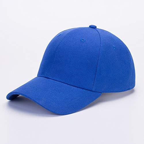 sdssup Bestickt flach entlang des Hutes Koreanische Version der Kappe Baseballmütze Fischerhut Hip-Hop Hip-Hop-Hut blau XL (60 cm oder mehr)