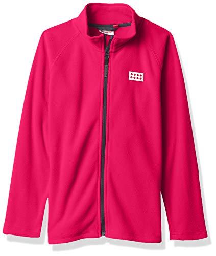 Lego Wear Jungen Full-Zip Jacket Fleece-Jacke,Pink,104