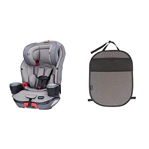 Read About Evenflo Evolve Platinum 3-In-1 Combination Booster Seat, Charcoal Stripe with Car Seat Ki...
