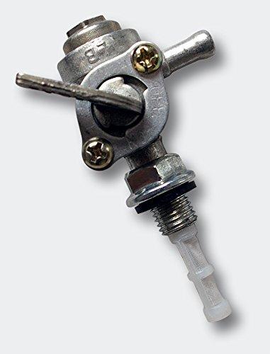 WilTec Robinet d'essence pour Essence Réservoir de Carburant avec Tamis de Robinet Essence pour Générateur