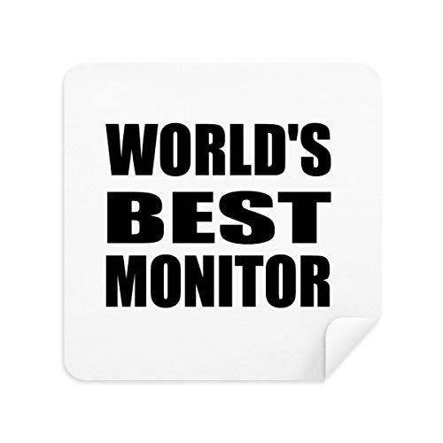 DIYthinker World'S Beste Monitor Afstuderen Seizoen Bril Schoonmaken Doek Telefoon Screen Cleaner Suede Stof 2 Stks