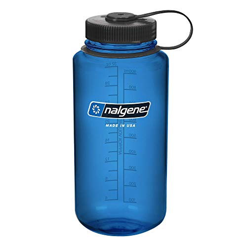 Nalgene Kunststoffflaschen 'Everyday WH' Trinkflasche Blau, 1,0L
