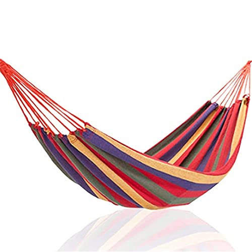 Garden Camping Hammock 260 x 150 cm - Portable Hammock – Perfect for Camping & Outdoors or Gardens and Travel (2 person hammock)