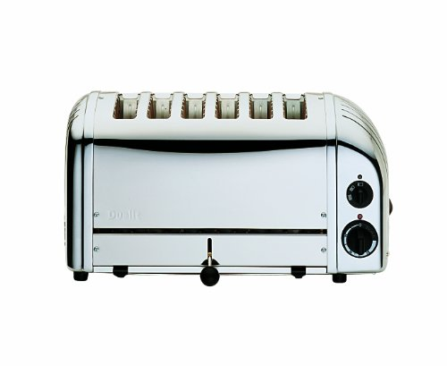 Dualit -Grille Pain, 6 Large Fente, Inox