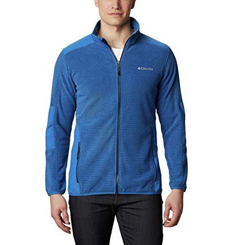 Columbia Tough Hiker Full Zip Fleece, Giacche (Shells) Uomo, Bright Indigo, S
