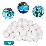 chalkalon 700g Filter Balls, Pool Filterbälle Schwimmbadreinigungsgeräte Spezielle...