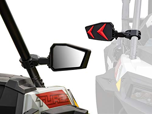 SuperATV Seeker Side View Mirrors for CFMOTO ZForce 800 - Fits 1.75