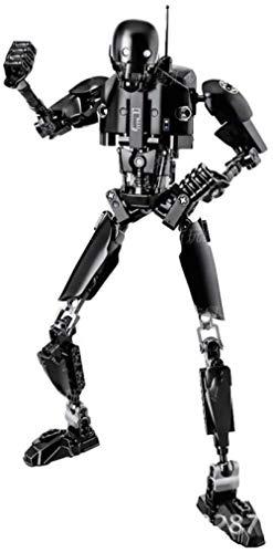 Minifigura de Star Wars para Construir Stormtrooper Dark Vader Kylo REN chew108a Boba Jango Fett Juguete de figurita de luto General para niño-K 2SO