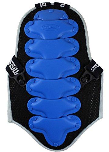Tecilla Sports Limited Edition Kinder Motorrad Rückenprotektor Kinderprotektor Protektor blau (2052 / M)