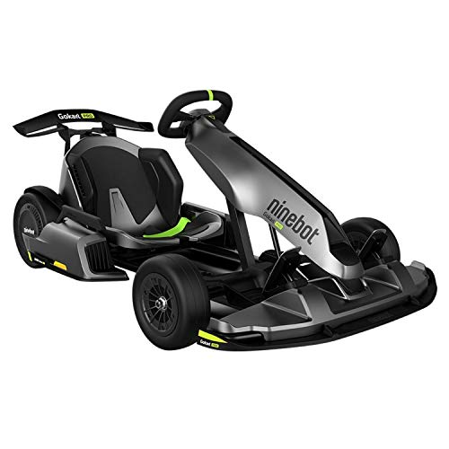 Segway Ninebot Electric GoKart Pro, Outdoor Race Pedal Go Karting Car for Kids and Adults, Adjustable Length and Height, Ride On Toys (Ninebot S MAX Included), Black