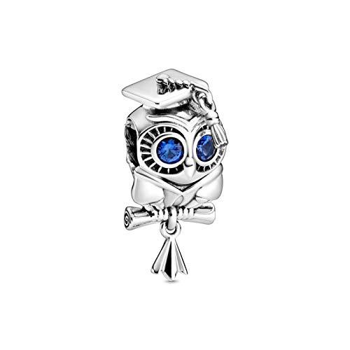 XIAODAN Original S925 Charm Spirit Dream Catcher Angel of Love Dangle fit charms Silver 925 DIY Bead Bracelet for Women A905