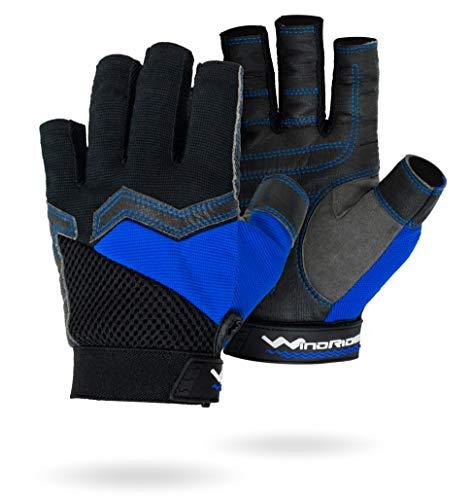 WindRider Ultra Grip Segel-, Paddel-, Kajak-Handschuhe | gepolstert | ergonomisch geformt | atmungsaktiv (groß)