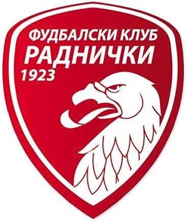 FK Radnicki Kragujevac - Serbia Football Soccer Futbol - Car Sticker - 5