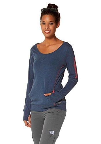 KangaROOS Damen Sweatshirt (36/38, Blau)
