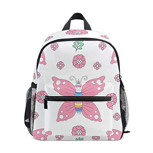 Mochila de unicornio para niños y niñas, para guardería, para guardería, mochila para niños pequeños, 10 x 4 x 12 pulgadas