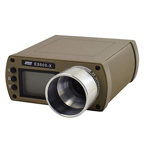 Festnight Genauigkeit E9800-X Geschwindigkeitstester mit LCD-Bildschirm Energiesparendes, leichtes, tragbares Multifunktions-Chronoskop